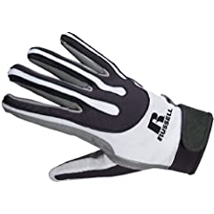 Buy BIKE RARG60 Russell Athletic Adult Football Receiver Glove by Bike