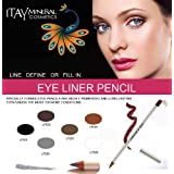 Itay Beauty Mineral Cosmetics Long Lasting Eye Liner Pencil in Silver