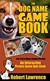 Dog Name Game Quiz Book