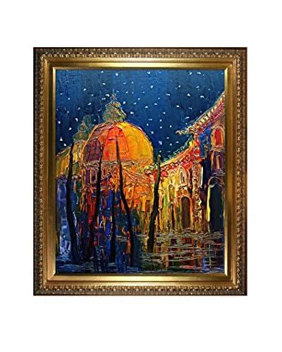 Justyna Kopania Night (Venetian Nights) Framed Giclée on Canvas