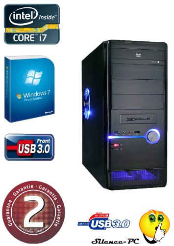 ANKERMANN-PC i7 3770 (4x3,40GHz) | NVIDIA GeForce GTX 650 2GB | 8GB RAM DDR3 | 2,0TB HDD SATA3 | Cardreader 75in1 | MB MSI B75 USB3.0 | 24xDVD-Writer | USB 3.0 | Netzteil 600Watt | Case Coolermaster ELITE 335 | Win 7 Prof. 64 Bit | PC mit 2 Jahre echte GARANTIE