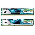SP シリコンパワー デスクトップPC用 メモリ ヒートシンク付 240Pin DIMM DDR3-1866 (PC3-12800) 8GB×2枚 1.5V CL13 (無期限保証) SP016GBLTU186ND2