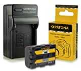 3in1 Charger + Battery NP-FM50 / NP-FM55H / NP-QM51 for Sony Cybershot DSC-F707 DSC-F717 DSC-F828, DSC-S30 DSC-S50 DSC-S70 DSC-S75 DSC-S85 DSLR-A100 (?100) MVC-CD200/ MVC-CD250/ MVC-CD300/ MVC-CD350/ MVC-CD400 MVC-CD500