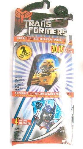 Transformers 2 Kite Sets ,Minifoil Nylon Kite 20.75 in wide, Mini Microlite Mylar Kite 4 in wide - 1
