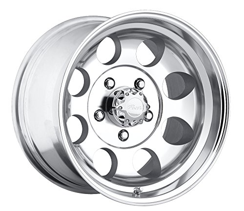 Pacer LT 16x8 Polished Wheel / Rim 6x5.5 with a -6mm Offset and a 108.00 Hub Bore. Partnumber 164P-6883 (Rims 16 For Toyota Pickup 1994 compare prices)