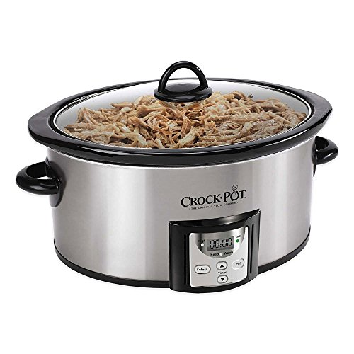 Crock-Pot® SCCPVC400-S 4 qt. Count Down Slow Cooker Is Designed for Everyday Cooking (Crock Pot Smart Pot Digital compare prices)