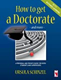 Ursula Schinzel How to Get a Doctorate - And More - With Distance Learning