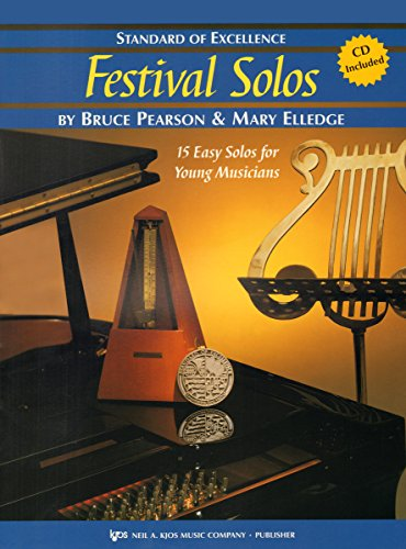 W37FL - Standard of Excellence - Festival Solos Book/CD Book 2 - Flute