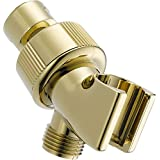 Delta Faucet U3401-PB-PK Universal Showering Components Adjustable Shower Arm Mount, Polished Brass
