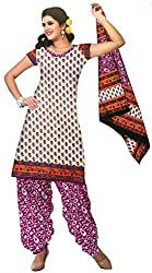Parth Women's Cotton Unstitched Dress Material_1505_Multicolored_Freesize