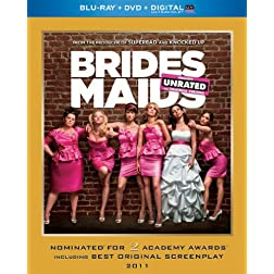 Bridesmaids (Blu-ray + DVD + Digital with UltraViolet)
