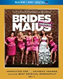 Bridesmaids (Blu-ray + DVD + Digital with UltraViolet)