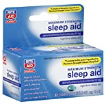 Rite Aid Pharmacy Sleep Aid, Maximum Strength, Liquid Softgels, 32 softgels