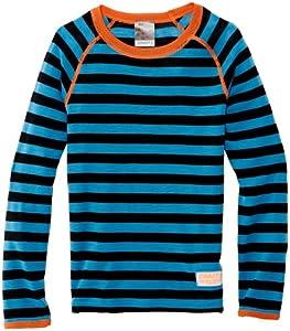 Craft 1J KW Sous-vêtement col ras du cou manches longues garçon Focus/Noir FR : 10 ans (Taille Fabricant : 134-140)