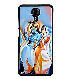 Radha Krishna 2D Hard Polycarbonate Designer Back Case Cover for Micromax Canvas Xpress 2 E313