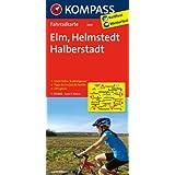 Elm - Helmstedt - Halberstadt: Fahrradkarte. GPS-genau. 1:70000