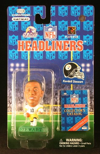 KORDELL STEWART / PITTSBURGH STEELERS * 3 INCH * 1997 NFL Headliners Football Collector Figure