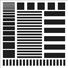 Crafter39s Workshop Templates 6quotX6quot-Stripes