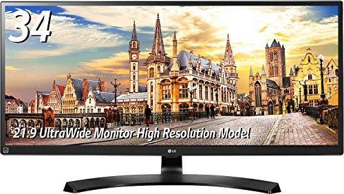 LG 34UM88C-P IPSディスプレイ 34インチ/Ultra Wide/ AH-IPS非光沢/3440×1440/HDMI