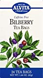 Bilberry Tea Alvita Tea 24 Bag