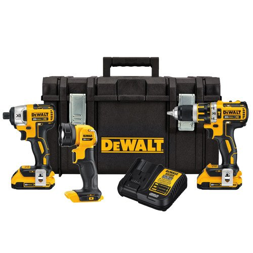 DEWALT-DCK286D2-20V-MAX-XR-Lithium-Ion-Brushless-Compact-Hammerdrill-and-Impact-Driver-Combo-Kit
