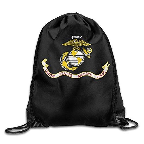 XKUN Navy Elite Troops Army Drawstring Backpack Sack Bag