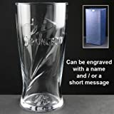Personalised Strongbow One Pint Glass, Engraved