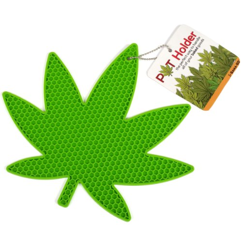 Marijuana Leaf Hot Pot Holder