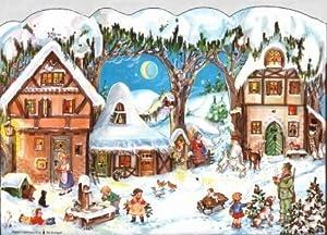 European Village German Christmas Advent Calendar from Sellmer Verlag