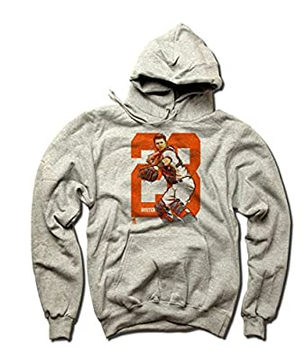 Buster Posey MLBPA San Francisco Youth Hoodie Buster Posey Sketch O