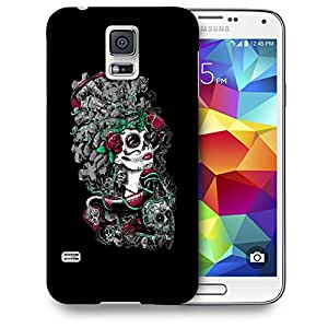 Snoogg Dangerous Lady Designer Protective Back Case Cover For SAMSUNG GALAXY S5 MINI