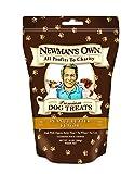 Newmans Own Organics Premium Dog Treats, Peanut Butter, Medium Size, 10-Ounce Bags (Pack of 6)