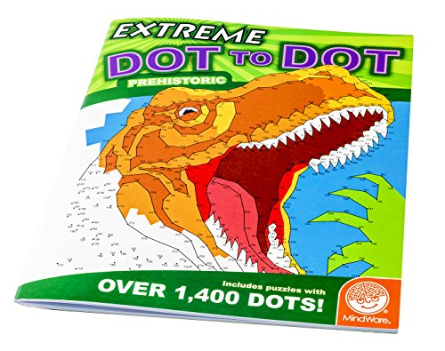 MindWare Extreme Dot to Dots Prehistoric - 1