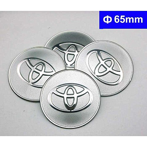 4pcs C084 65mm Car Styling Accessories Emblem Badge Sticker Wheel Hub Caps Centre Cover TOYOTA COROLLA RAV4 Camry CROWN PRIUS REIZ VIOS YARIS EZ VENZA HIGHLANDER ALPHARD PREVIA (Wheel Stickers compare prices)