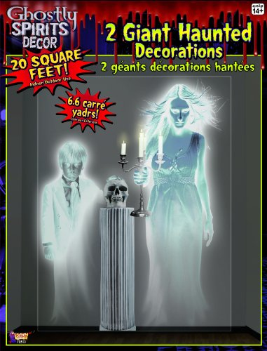 Giant Ghostly Spirits Halloween Party Wall Decoration