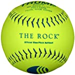 Trump® MP-ROCK-11-UY The Rock® Series 11 inch USSSA Composite Leather Softball (Sold in Dozens)