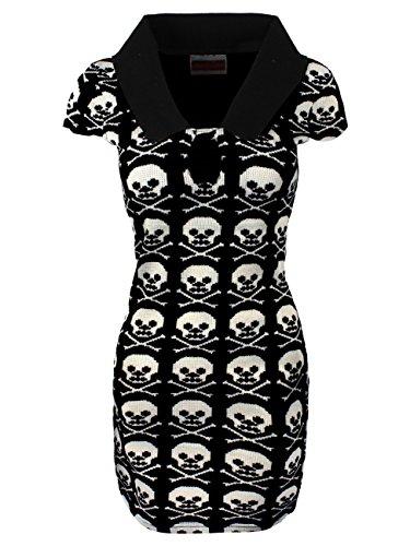 Jawbreaker mini abito Skull Grid