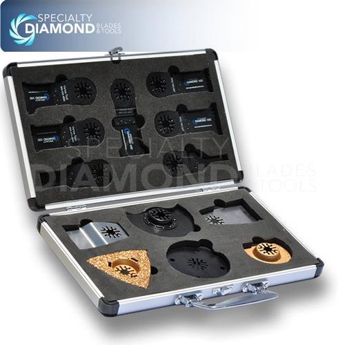 Versa-Tool DBMASTER 13 Piece Master Accessory Collection With Custom Aluminum Case For Dremel Multi-Max