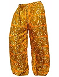Women's Cotton Harem Pants Afghani Trousers - B06XVBYNX2