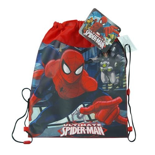 WeGlow International Amazing Spiderman Non Woven Sling Bag (Pack of 3)
