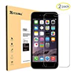 Coolreall 2-Pack iPhone 6/6S Compatib...