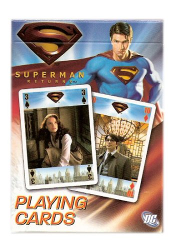 Superman Returns Collectibles Poker Playing Cards - The Movie Deck - 1
