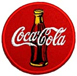 Coca Cola Bottle Classic DIY Embroidered Sew Iron on Patch