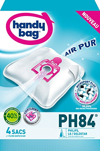 Handy-Bag-PH84-Sac-Aspirateur-Microfibre-Anti-allergne-Filtre-Moteur-Philips-Oslo-Vision