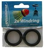2 Speedminton Wind Rings für mehr Windstabilität