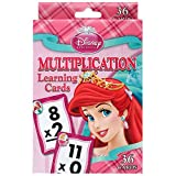 Disney Princess Multiplication Learning Cards (Box and card art work vary)