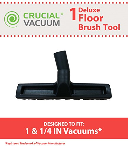 Crucial Vacuum Deluxe Hardwood & Barefloor Floor Brush, 1 1/4 Inch (Canister Vacuum Floor Brush compare prices)