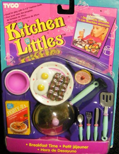 Barbie Tyco Kitchen Littles Breakfast Time (1995)