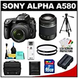 Sony Alpha DSLR-A580 16.2 MP Digital SLR Camera