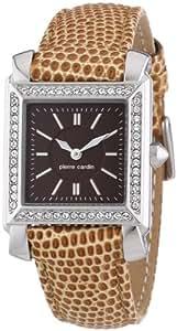 Pierre Cardin Damen-Armbanduhr Le Lustre Analog Quarz Leder PC104212F02